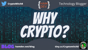 Why Do I Keep Talking About Crypto?