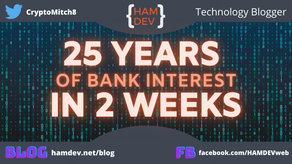 25 Years of Bank Interest in 2 Weeks