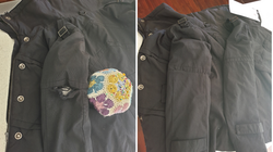 Jacket with Hole in Arm