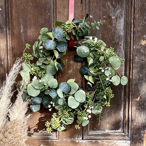Eucalyptus/Berry Wreath