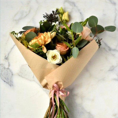 $75 Hand-Tied Bouquet