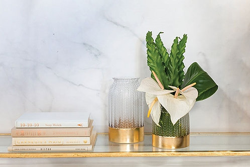 Wysteria Vase