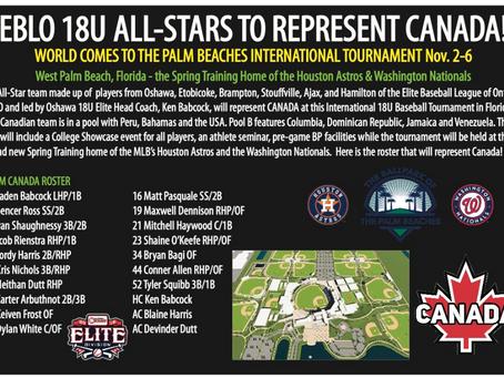 ELITE ALL-STARS REPRESENT CANADA AT INTERNATIONAL TOURNAMENT