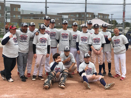 Barrie Baycats 16u Win Brampton Fall Tournament