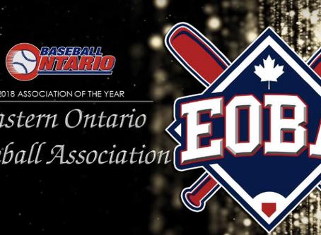 EBLO Well Represented at 2018 Baseball Ontario Annual General Meeting
