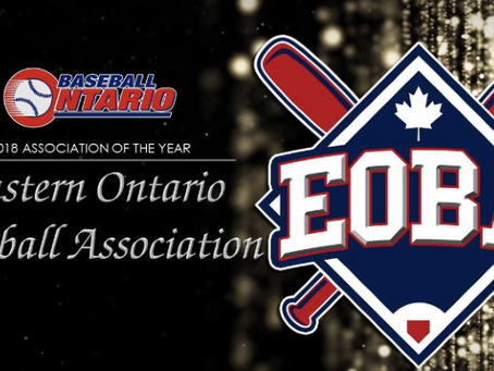EBLO Well Represented at 2018 Baseball Ontario Annual General Meeting