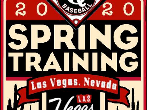 *Registration Now Open* 2020 Spring Training Las Vegas