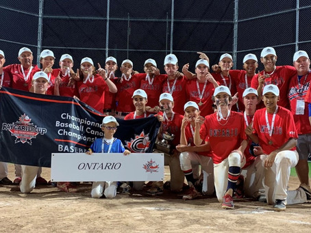 Whitby 15u National Champions