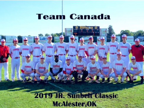 Team Canada - Oklahoma Sunbelt Tournament