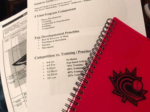 Baseball Canada's Annual High Performance Coaching Seminar