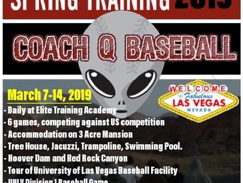 2019 Spring Training Las Vegas