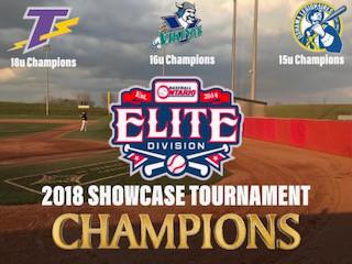Elite Baseball League of Ontario 2018Showcase Tournament