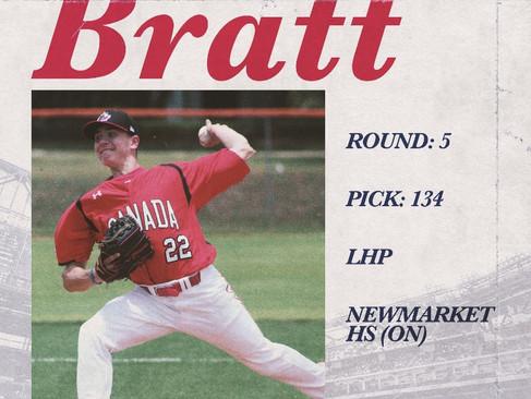 Mitchell Bratt Signs With Texas Rangers
