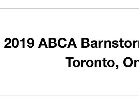 2019 ABCA Barnstormers Clinics
