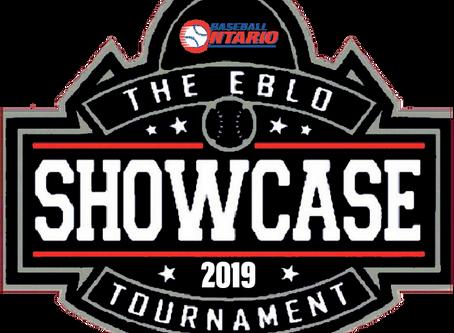 2019 Elite Baseball League of Ontario Showcase Tournament Cancelled