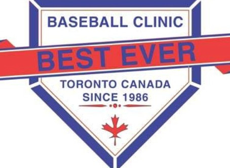 """The 32nd Annual Baseball Ontario's """"Best Ever Coaches Clinic"""""""