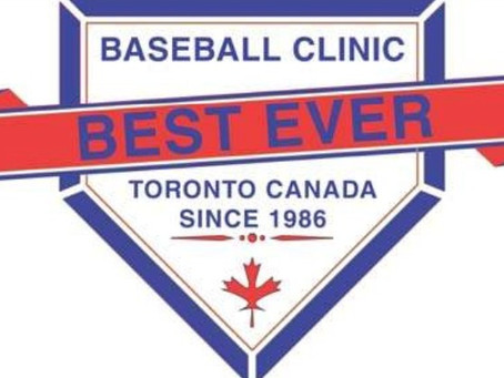 "The 32nd Annual Baseball Ontario's ""Best Ever Coaches Clinic"""
