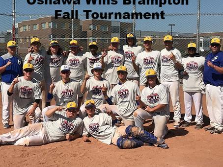 Oshawa Legionaires 18u Win Brampton Fall Tournament