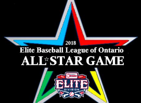 Elite Baseball All Star Game