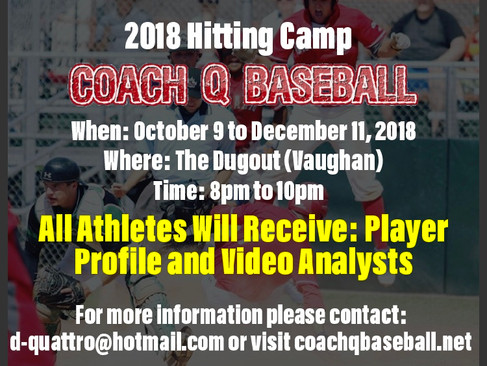 2018 Fall Camps