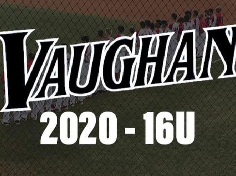 2020 Vaughan Vikings 16U Season Recap