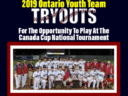 2019 Canada Cup Tryout Dates
