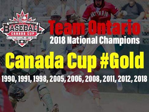 2018 Canada Cup - Ontario Wins Gold