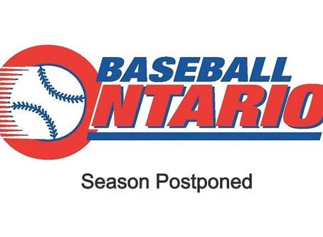 Season Postponed