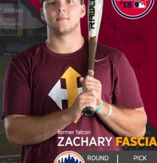 New York Mets Draft Brampton's Zachary Fascia