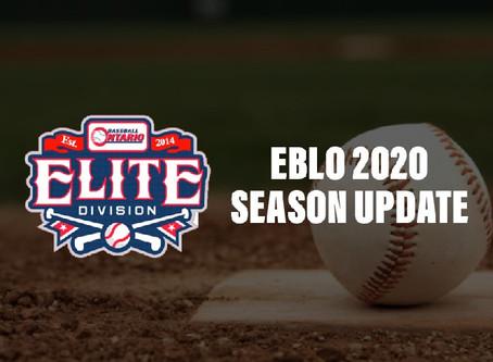 EBLO 2020 Season Update