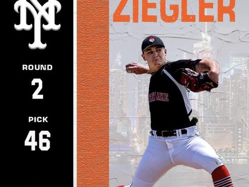 Calvin Ziegler Signs With New York Mets