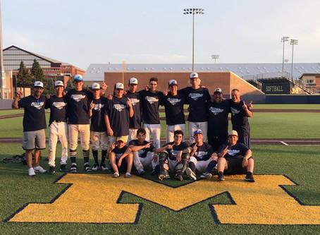 Barrie Baycats 16U Win University of Michigan All Wood Prospect tournament.
