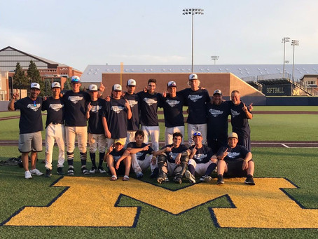 Barrie Baycats 16U Win University of Michigan All Wood Prospect tournament.