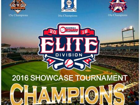 Elite BaseballLeague of Ontariohas teamed up with Prep Baseball Report for the 2016 Showcase Tourn