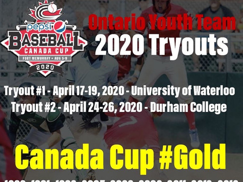 2020 Ontario Youth Team Tryouts