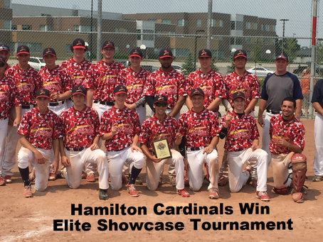 Hamilton Cardinals Win Inaugural Midget Elite League Showcase Tournament