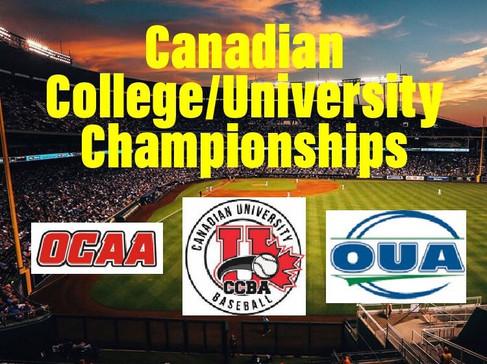 Ontario College and University Baseball Championships