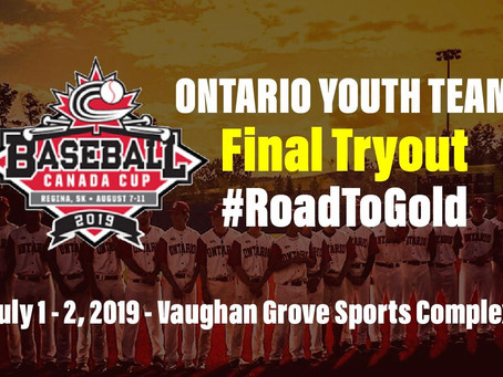 Ontario Youth Team Final Selection Camp