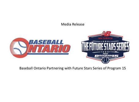 BaseballOntario Partnerswith FutureStarsSeriesofProgram15