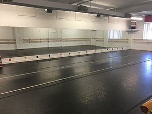 Gallery of Dance students