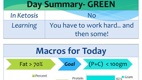 Day 2 of my 90 day keto journey – What's the deal with macros counting?