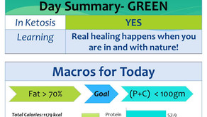 Day 8 of my 90 day keto journey – Nature heals!