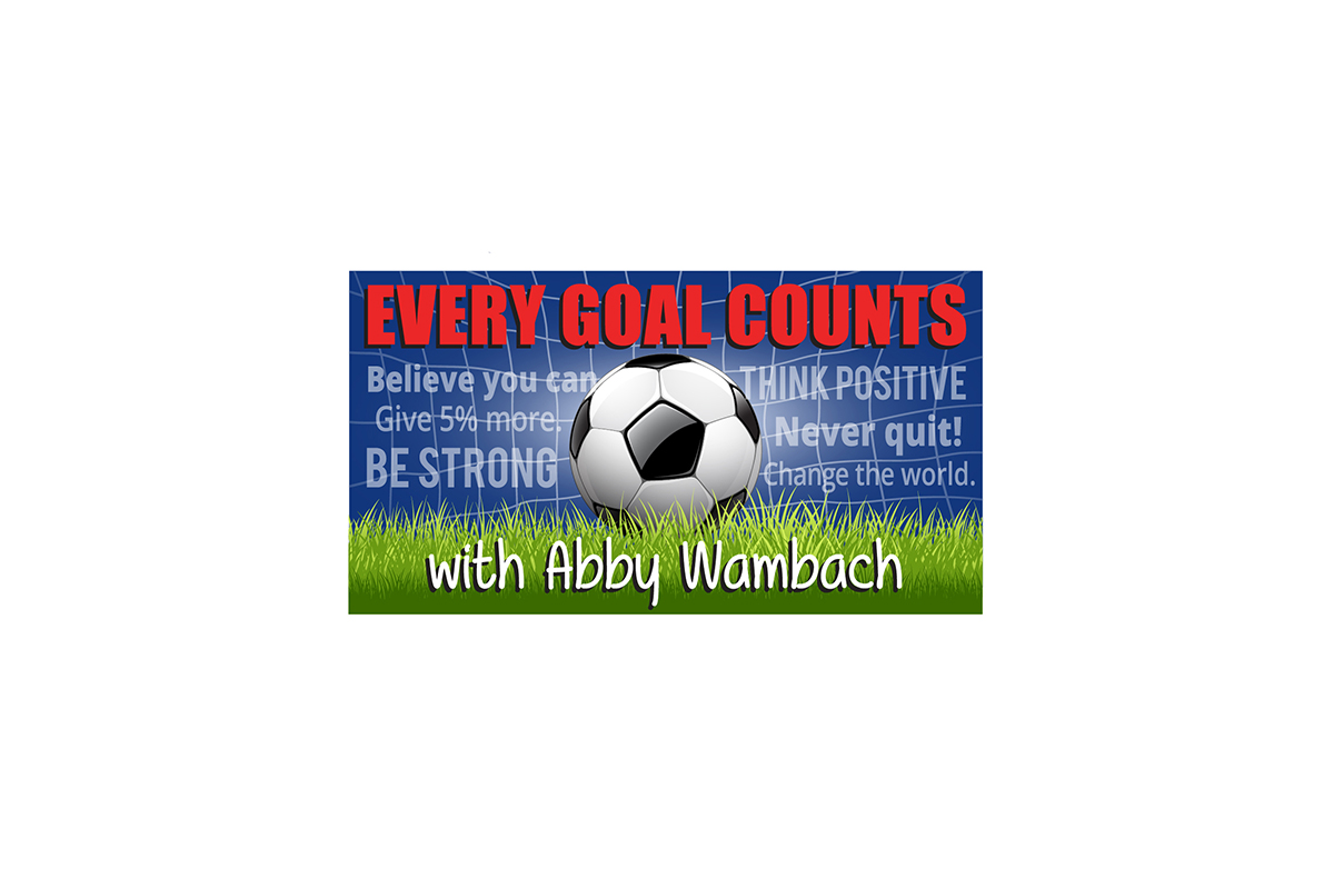 Abby Wambach Every Goal Counts Logo