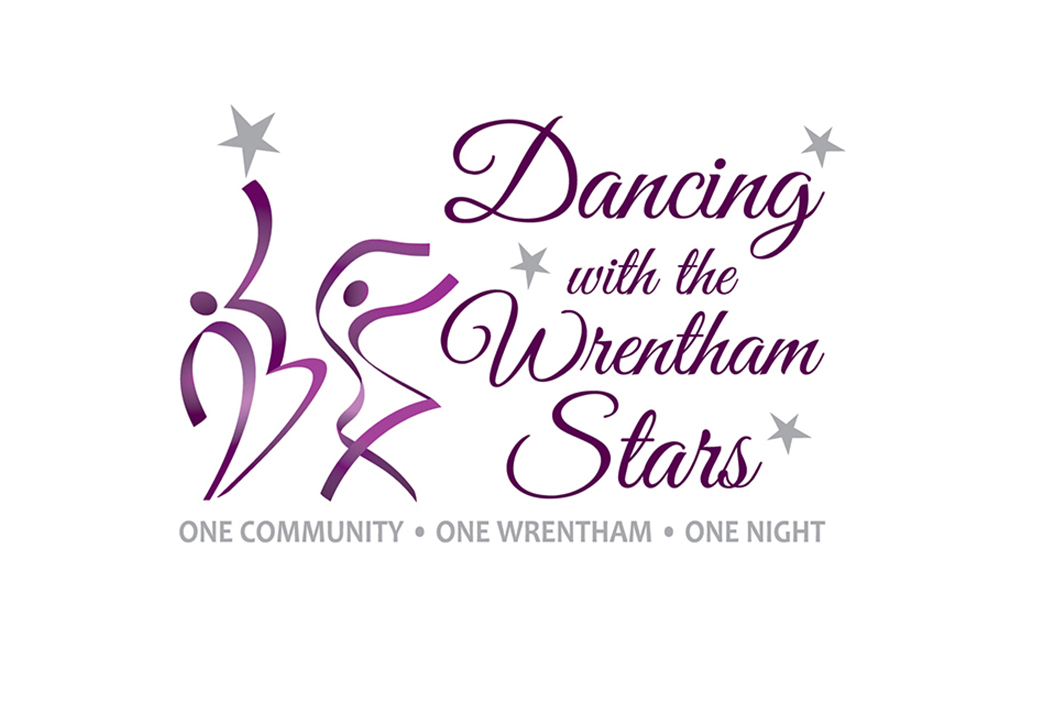 Dancing with the Wrentham Stars Logo