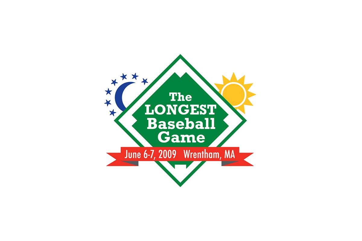 The Longest Baseball Game Logo