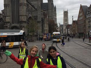 5LA op teambuilding in Gent !