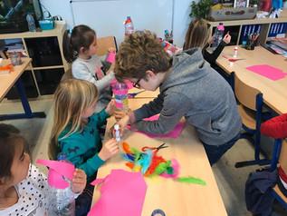 Good planet: zero afval ! De leerlingen van het 5de leerjaar komen van afval iets nieuw maken!