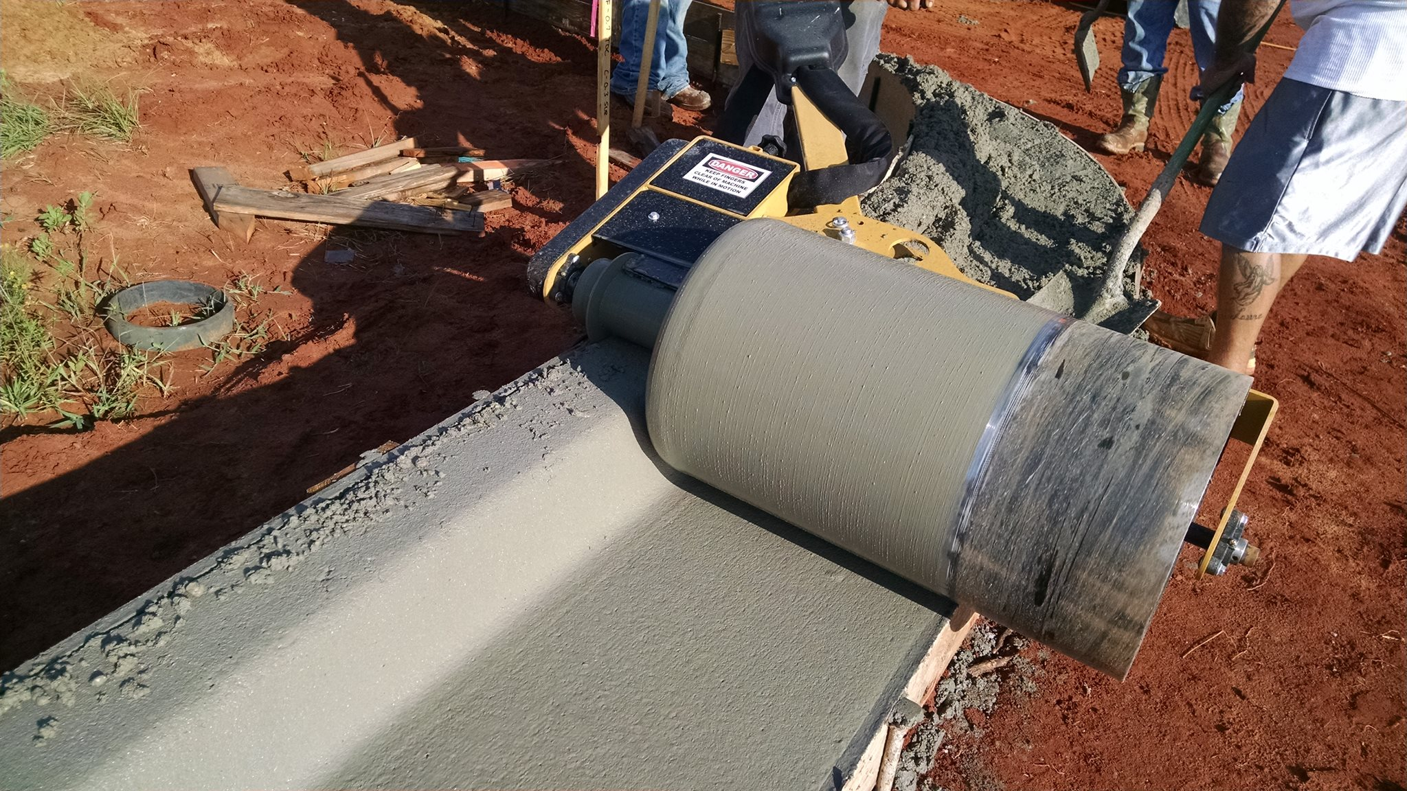 Curb Roller Manufacturing Concrete Roller Screeds Curb
