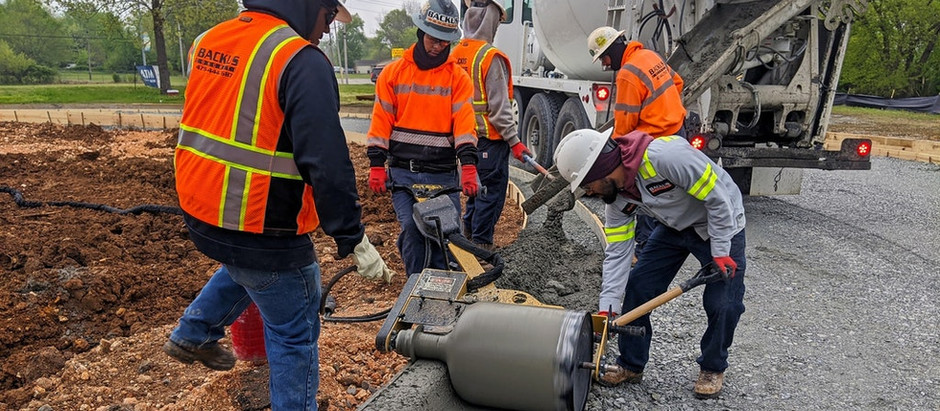 Collect Concrete Profits with a Curb Rolling Machine
