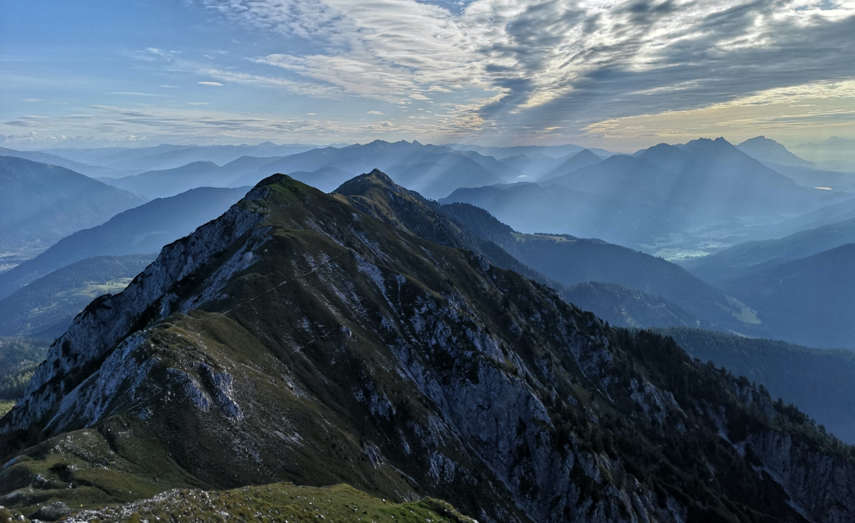 Gailtaler Alpen - Morgenstimmung